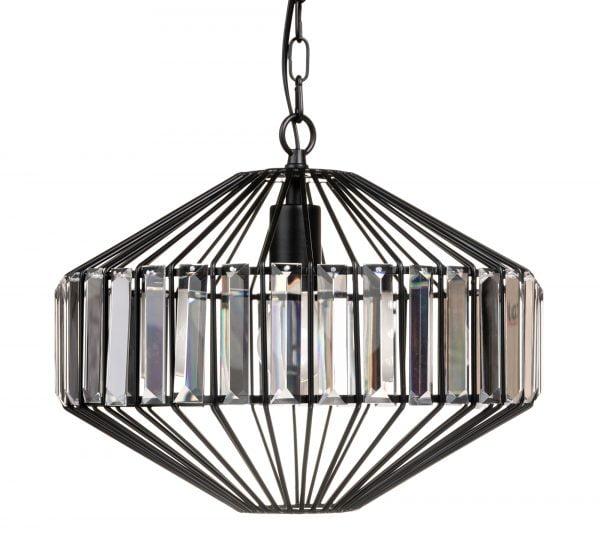 Bonnie-41 on kristallilamppu jonka runko on metallinen. Valaisin on väriltään musta.