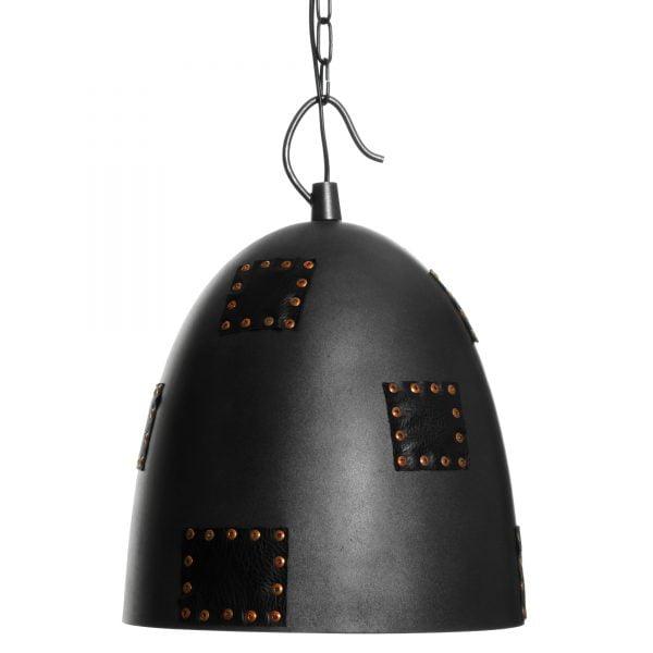 Debbie-30 on riippuva kattovalaisin. Valaisin on metallinen ja siinä on koristeena niiteillä kiinnitettyjä nahkaisia paikkoja.