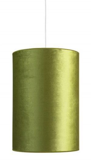 Roma-32R on vihreä, riippuva kattovalaisin. Varjostimen materiaali on samettia.