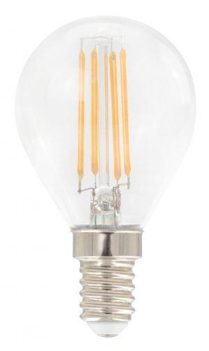 Airam E14 LED filamentti pallolamppu, 4W