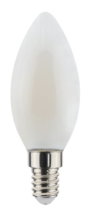 Airam E14 LED filamentti, matta kynttilälamppu
