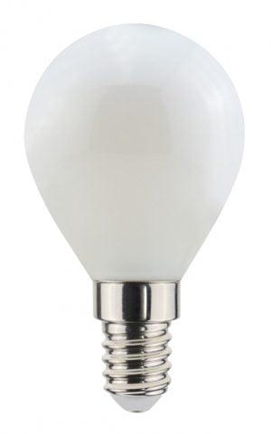 Airam E14 LED filamentti, matta pallolamppu, 3W