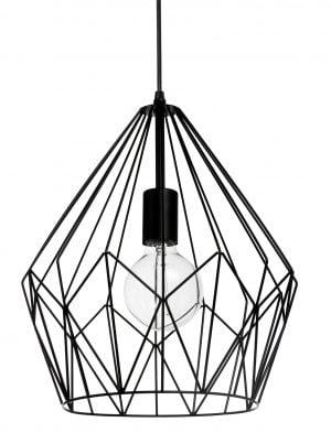 Matrolight Hope on timantin muotoinen, metallinen, riippuva kattovalaisin. Valaisin on väriltään musta ja sen materiaali on metallilanka .