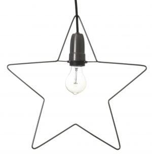 Wire Star, ripustettava jouluvalo