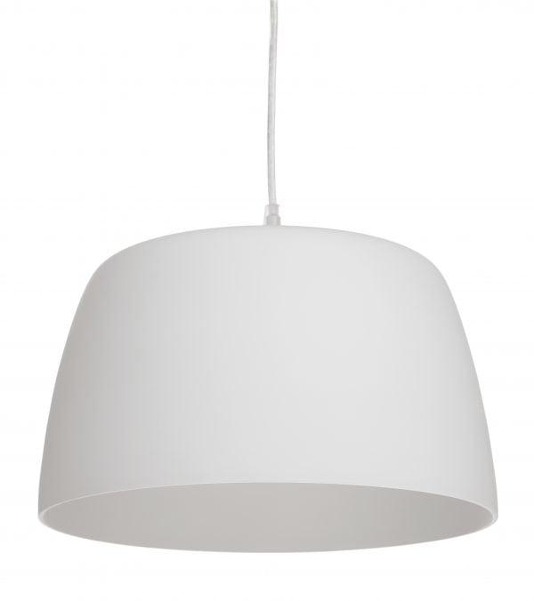 Mirato on riippuva kattovalaisin. Lasinen valaisin on väriltään valkoinen,.